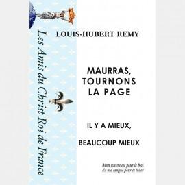 MAURRAS, TOURNONS LA PAGE