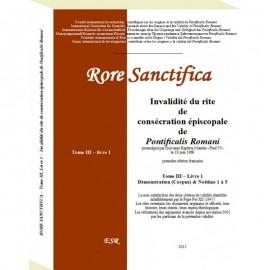 RORE SANCTIFICA III, Invalidité du rite de consécration épiscopale de Pontificalis Romani - Partie III