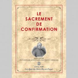Le Sacrement de Confirmation