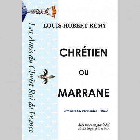 Chrétiens ou Marranes - ÉDITION 2020 COMPLÉTÉE