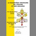 Le Magistère Ordinaire de l'Église et ses organes