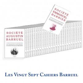 Cahiers Barruel