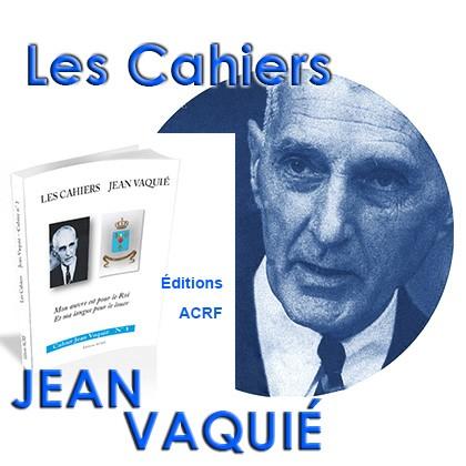 Les Cahiers Jean Vaquié